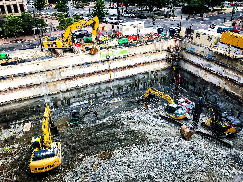 Celtic Demolition - 2050 M Street Demolition & Excavation