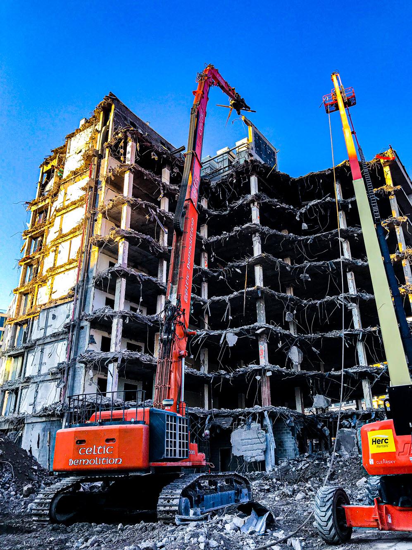 Celtic Demolition - Penn Quarter