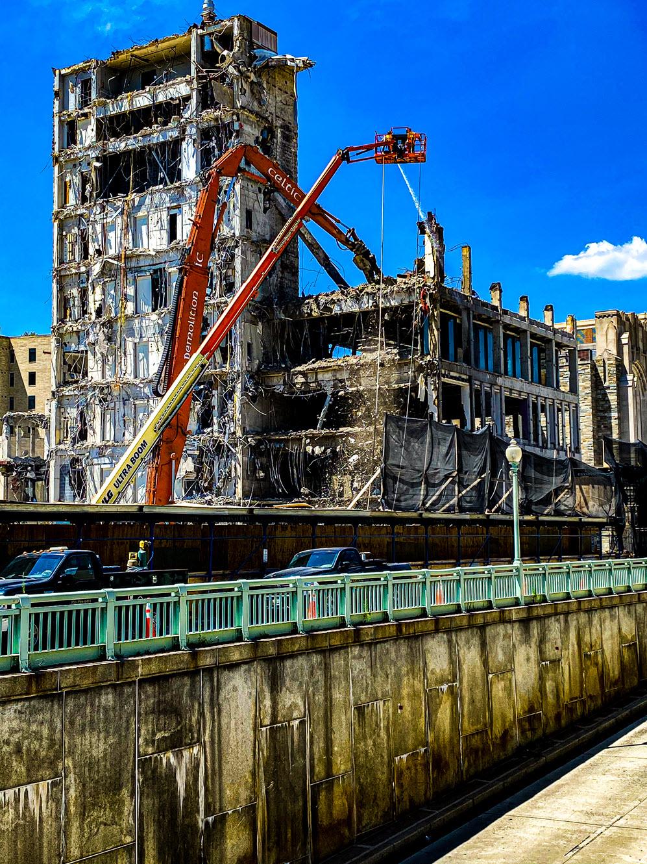 Celtic Demolition - Australian Embassy