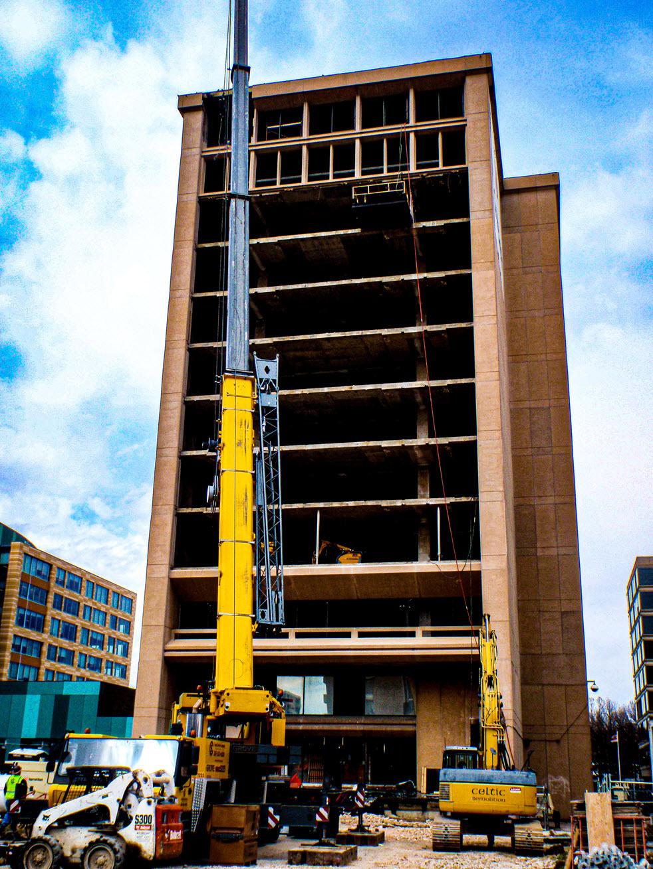 Celtic Demolition - Facade Removal 5