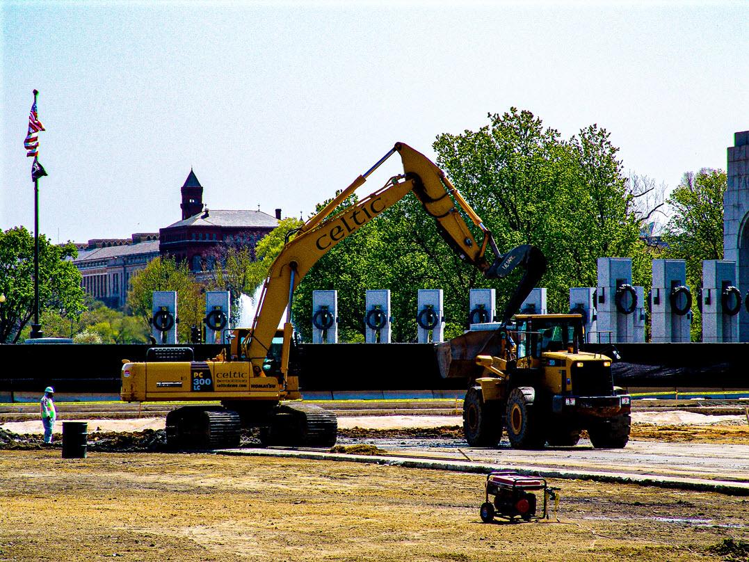 Celtic Demolition - Lincoln Memorial Reflecting Pool 2
