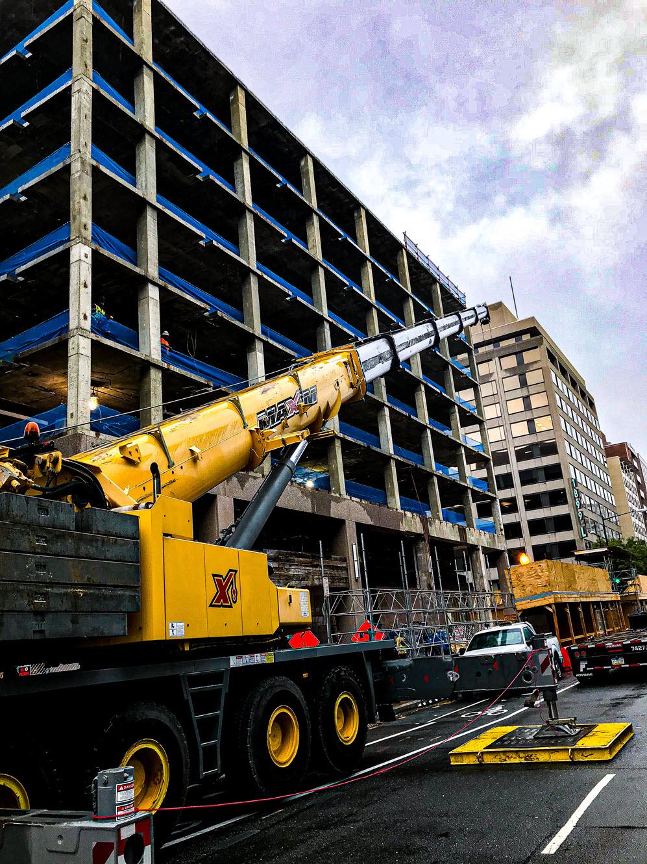 Celtic Demolition - Facade Removal 2