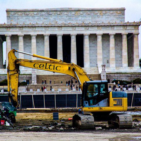 Celtic Demolition - Lincoln Memorial Reflecting Pool 6